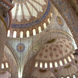 inside blue mosque
